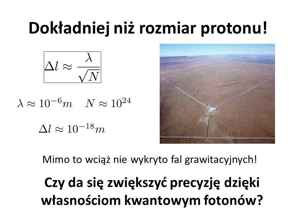 Dokładniej niż rozmiar protonu! Mimo to wciąż nie wykryto fal grawitacyjnych! Czy da się zwiększyć precyzję dzięki własnościom kwantowym fotonów?