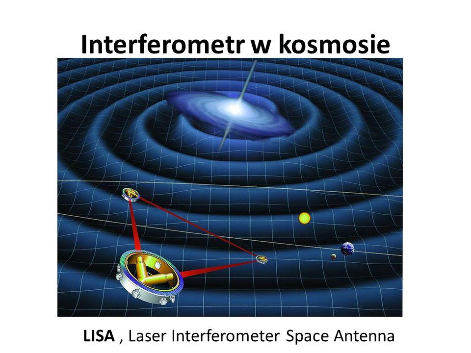 Interferometr w kosmosie LISA, Laser Interferometer Space Antenna