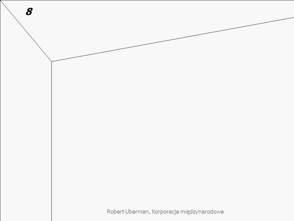 Robert Uberman, Korporacje międzynarodowe 8