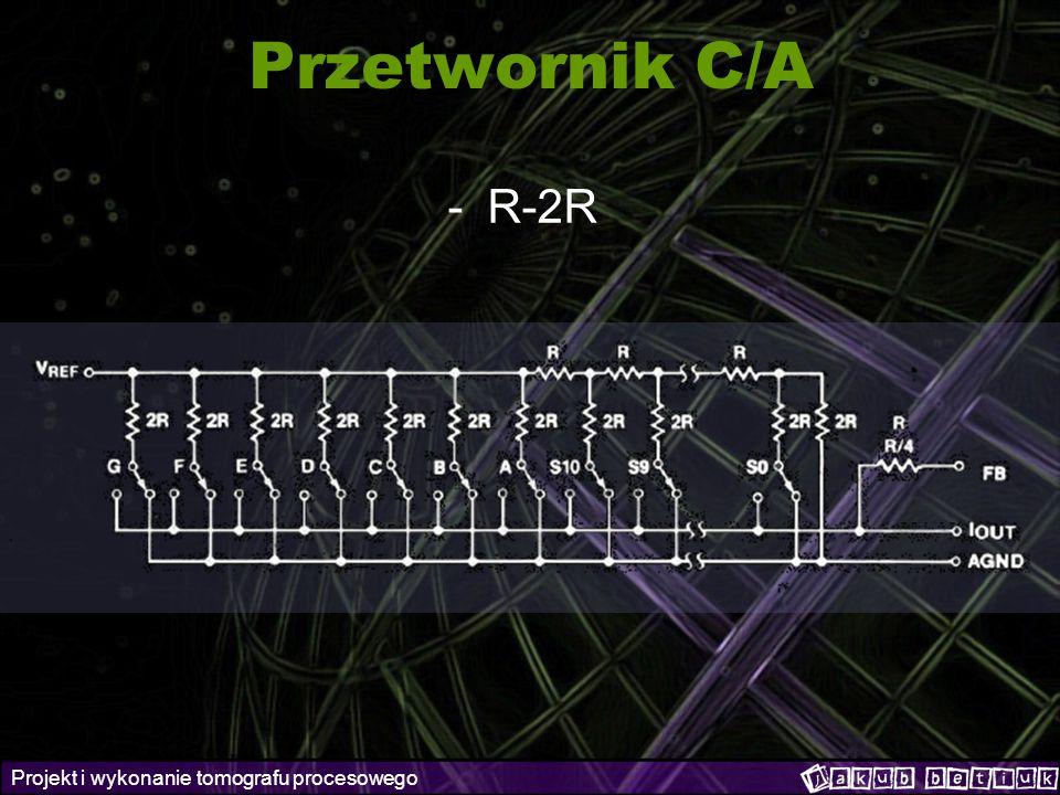 Projekt i wykonanie tomografu procesowego Przetwornik C/A -R-2R