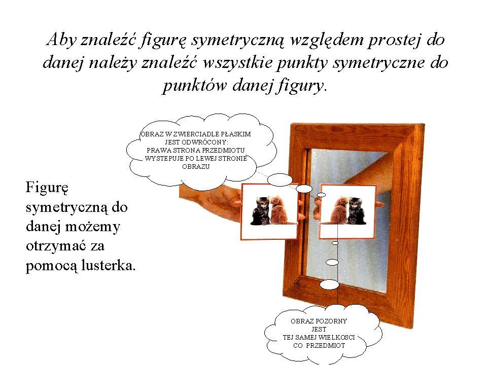 właściwość figury, bryły lub ogólnie dowolnego obiektu matematycznego (można mówić np. o symetrii równań), polegająca na tym, iż istnieje należące do