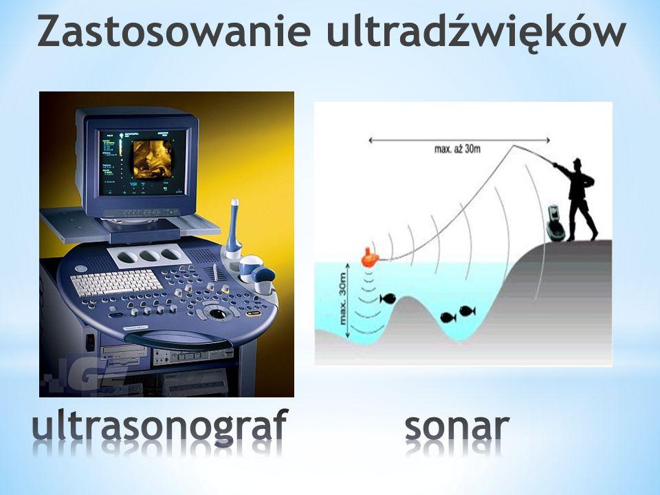 Zastosowanie ultradźwięków