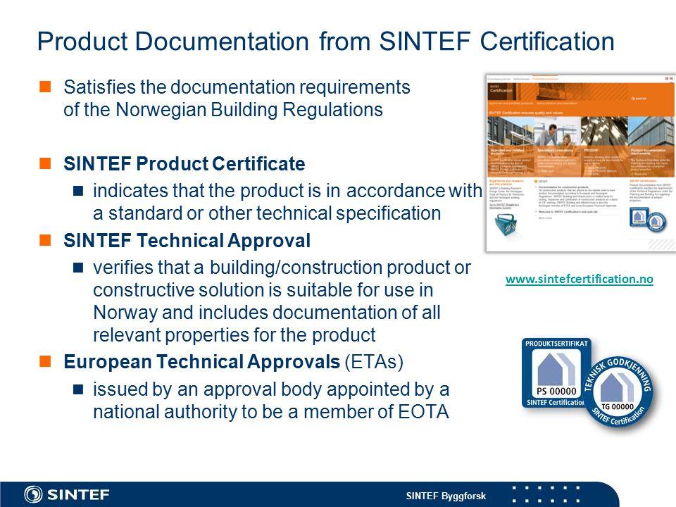 SINTEF Byggforsk Example: Polish manufacturer 5