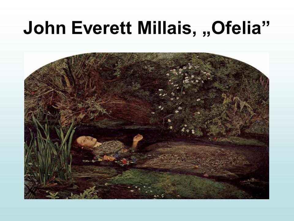 "John Everett Millais, ""Ofelia"""