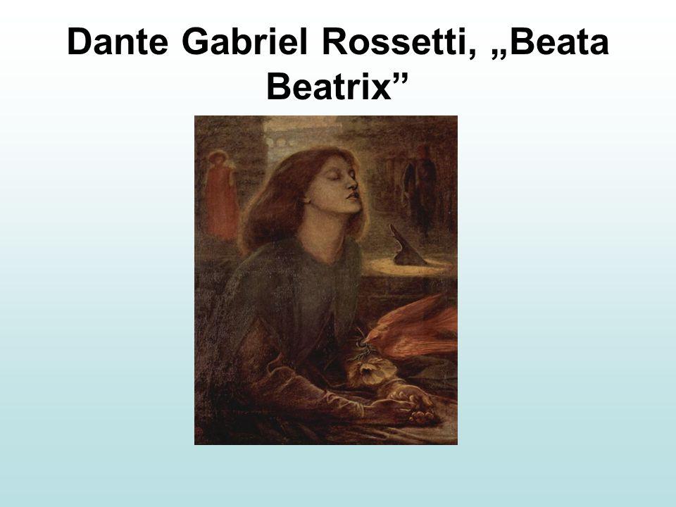 "Dante Gabriel Rossetti, ""Beata Beatrix"""