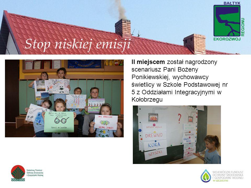 II miejscem został nagrodzony scenariusz Pani Bożeny Ponikiewskiej, wychowawcy świetlicy w Szkole Podstawowej nr 5 z Oddziałami Integracyjnymi w Kołob