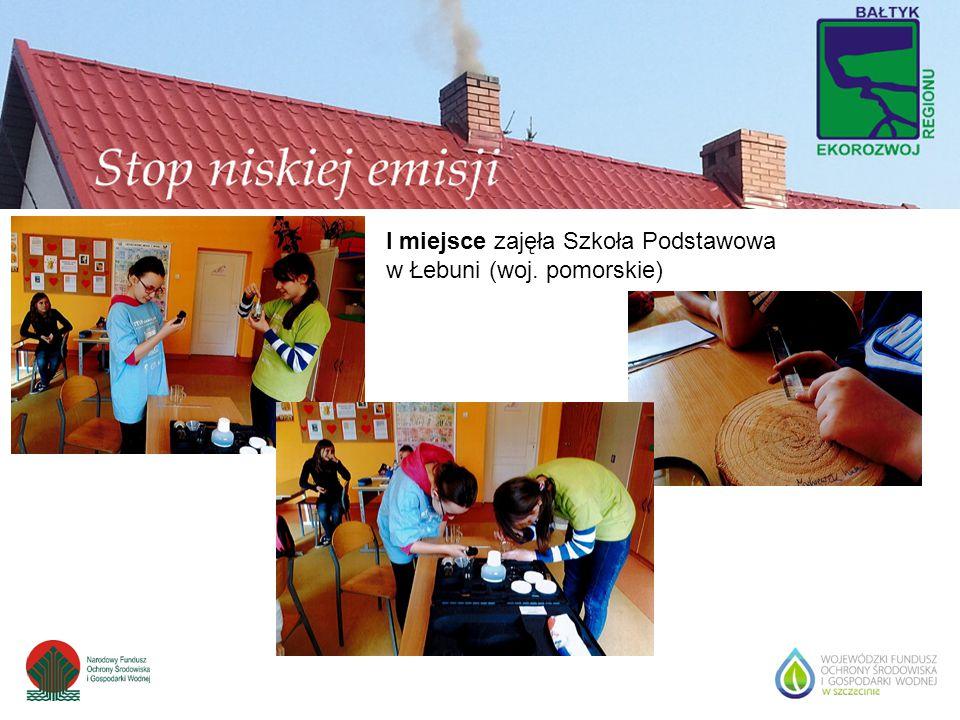 I miejsce zajęła Szkoła Podstawowa w Łebuni (woj. pomorskie)