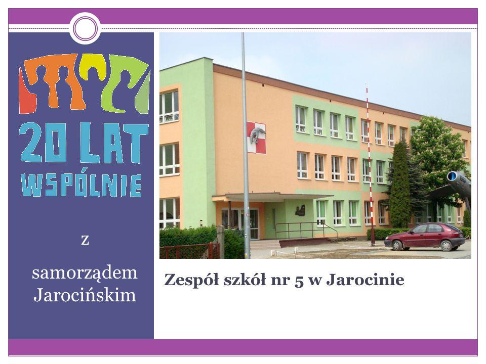 Zespół szkół nr 5 w Jarocinie z samorządem Jarocińskim