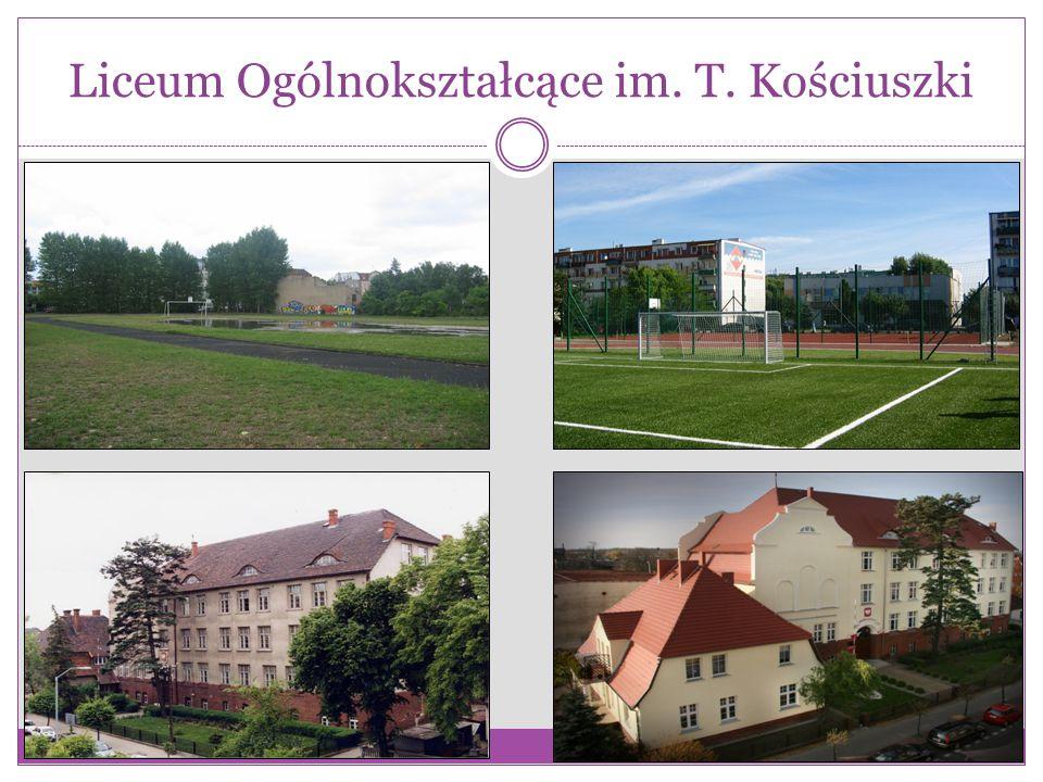 Liceum Ogólnokształcące im. T. Kościuszki