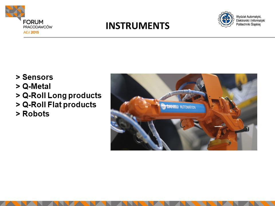 INSTRUMENTS >> Sensors >> Q-Metal >> Q-Roll Long products >> Q-Roll Flat products >> Robots