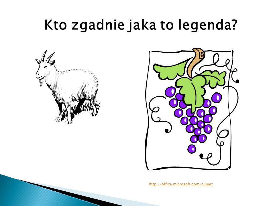 Kto zgadnie jaka to legenda? http://office.microsoft.com/cilpart