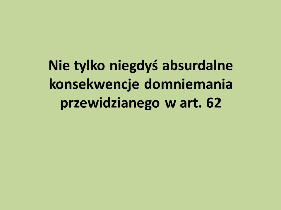 Początek jest na początku Art.75. § 1.