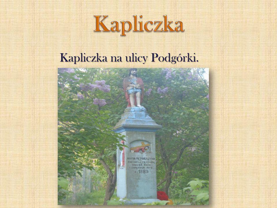 Kapliczka na ulicy Podgórki.