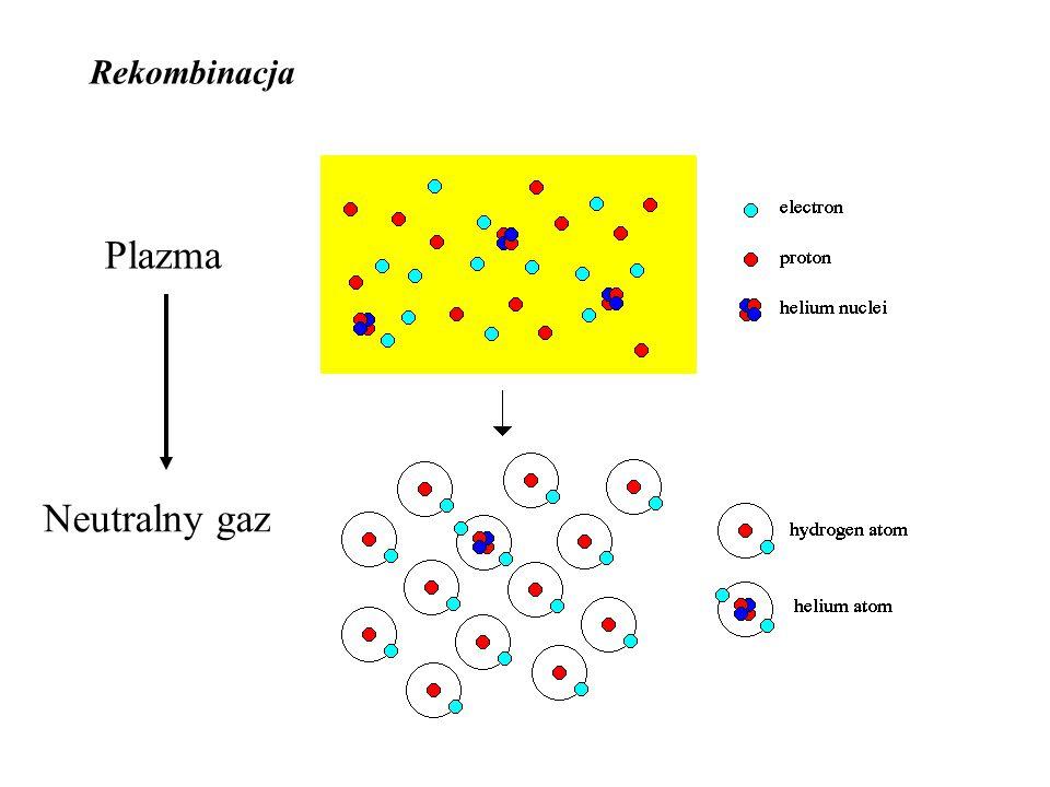 Plazma Neutralny gaz Rekombinacja