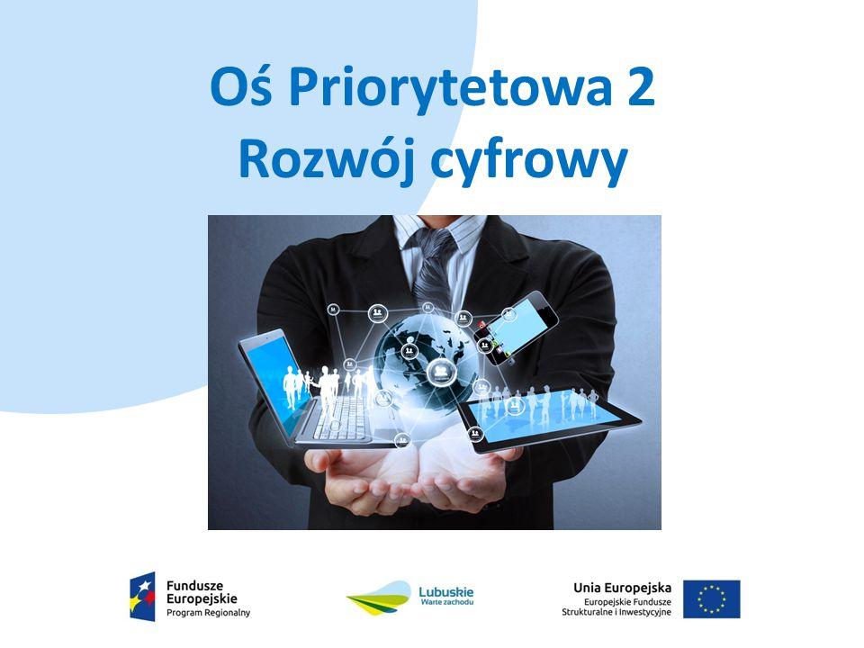 Typy projektów:  uruchomienie platform wymiany informacji pomiędzy podmiotami (administracja publiczna, ośrodki zdrowia, służby porządkowe i ratownicze oraz obywatelami) zapewniających bezpieczeństwo przesyłanych danych,  inwestycje w infrastrukturę służącą zwiększeniu stopnia cyfryzacji, komunikacji i bezpieczeństwa przechowywania danych (w tym projekty z zakresu: e-zdrowia), 39,2 mln euro
