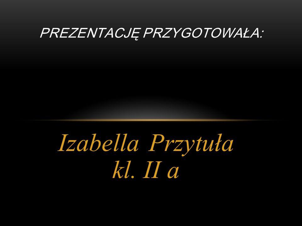 Anna Banek kl. II b Patrycja Opara kl. II b Natalia Szczur kl.