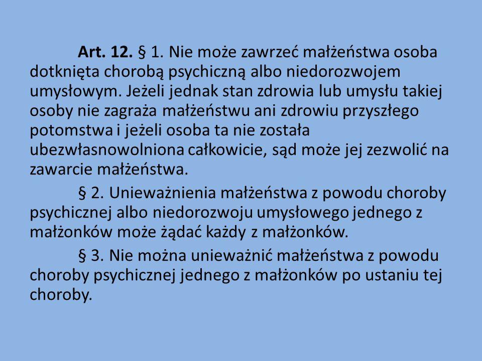 Art. 12. § 1.