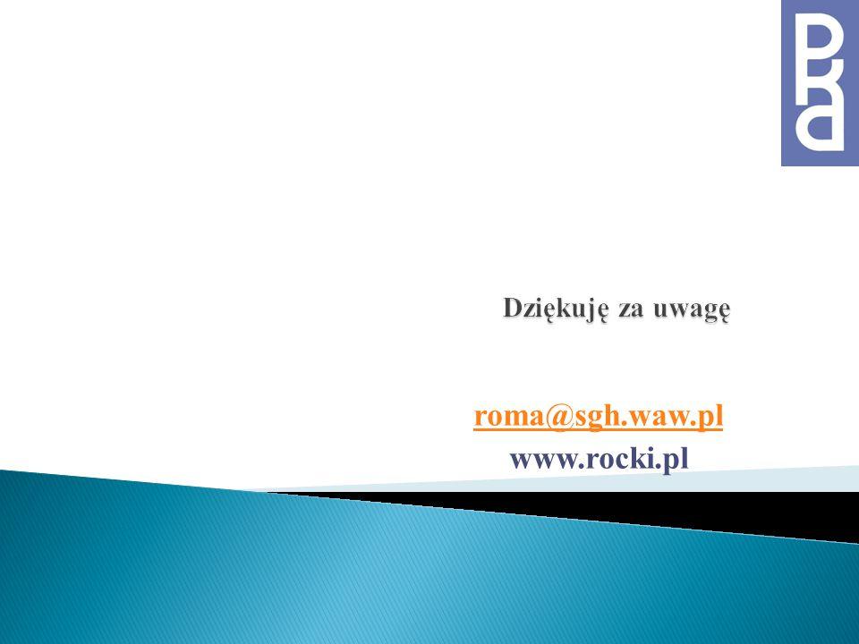 roma@sgh.waw.pl www.rocki.pl