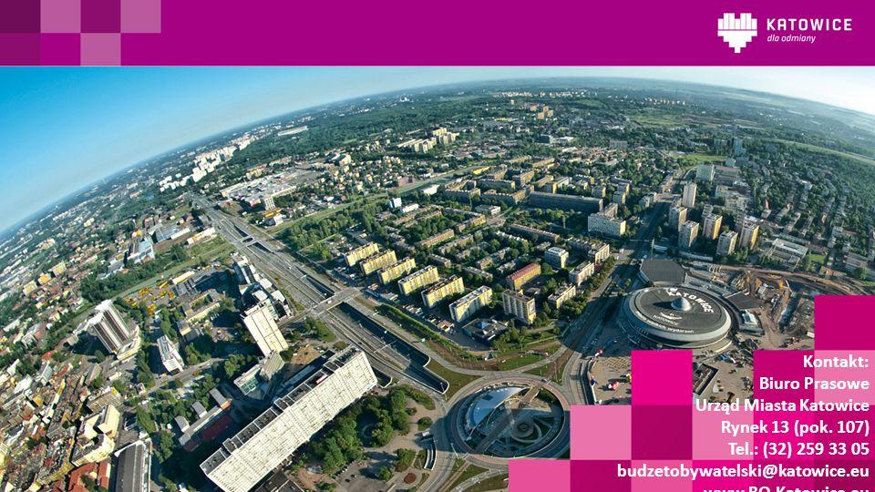 Kontakt: Biuro Prasowe Urząd Miasta Katowice Rynek 13 (pok.