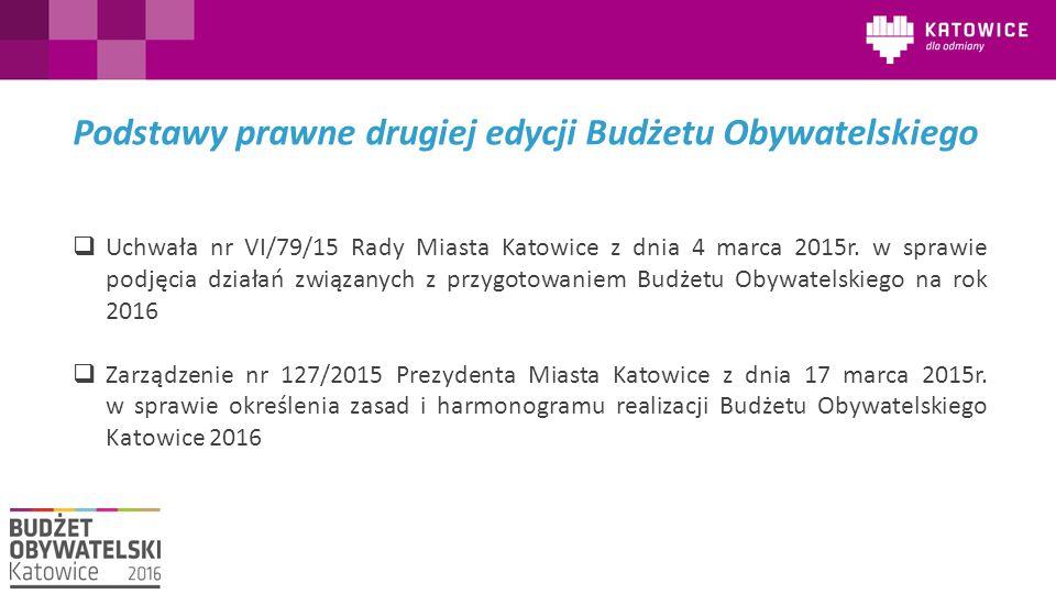  Uchwała nr VI/79/15 Rady Miasta Katowice z dnia 4 marca 2015r. w sprawie podjęcia działań związanych z przygotowaniem Budżetu Obywatelskiego na rok