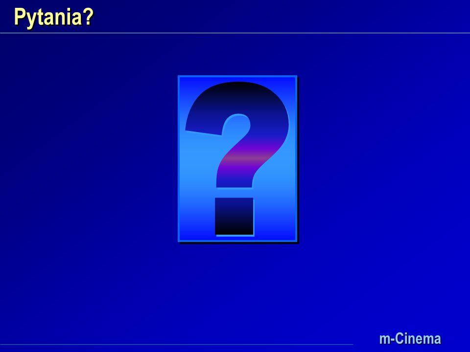 m-Cinema Pytania