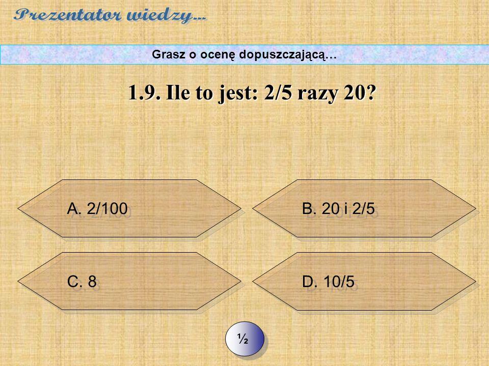 B. w lewo o 3 miejsca B. w lewo o 3 miejsca C. w prawo o 3 miejsca C.