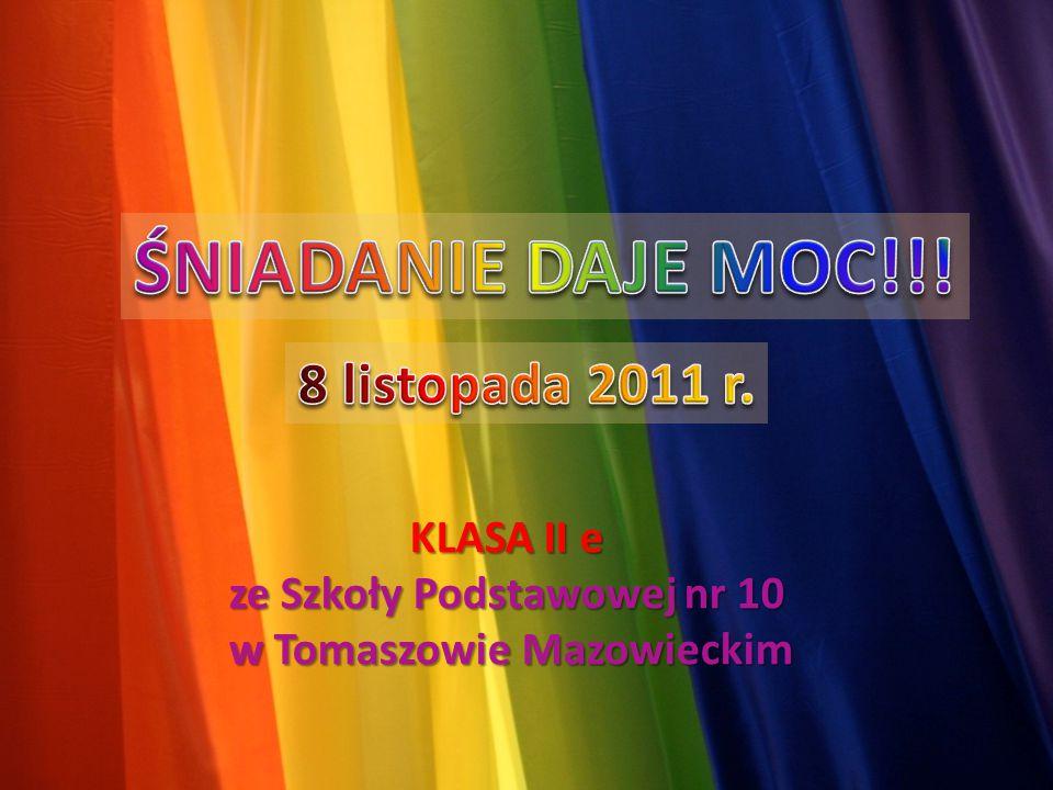 KLASA II e ze Szkoły Podstawowej nr 10 w Tomaszowie Mazowieckim