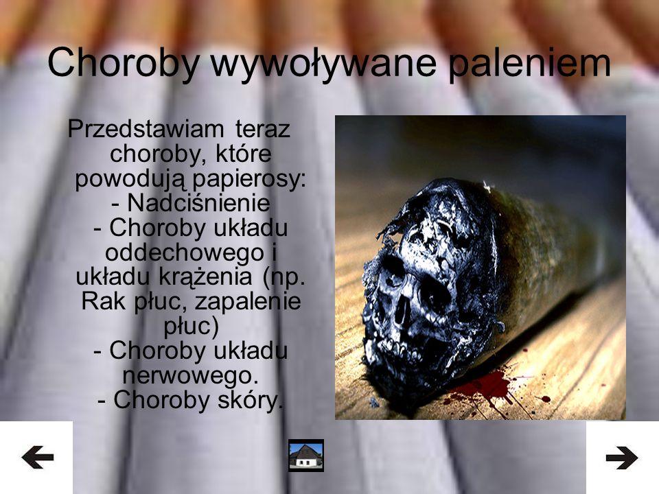 Drastyczne wyniki palenia wśród nas Polaków -Około 10 mln Polaków pali regularnie 15 - 20 sztuk papierosów dziennie.
