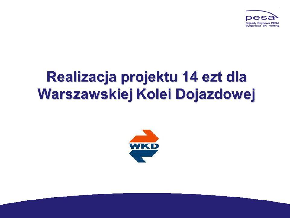 Realizacja projektu 14 ezt dla Warszawskiej Kolei Dojazdowej Realizacja projektu 14 ezt dla Warszawskiej Kolei Dojazdowej