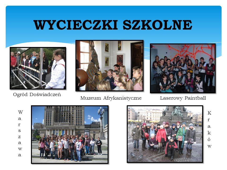 WYCIECZKI SZKOLNE Ogród Doświadczeń Muzeum AfrykanistyczneLaserowy Paintball WarszawaWarszawa