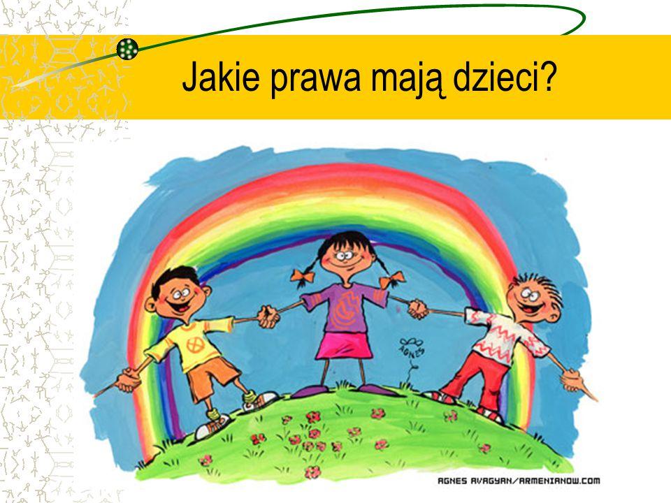 Jakie prawa mają dzieci?