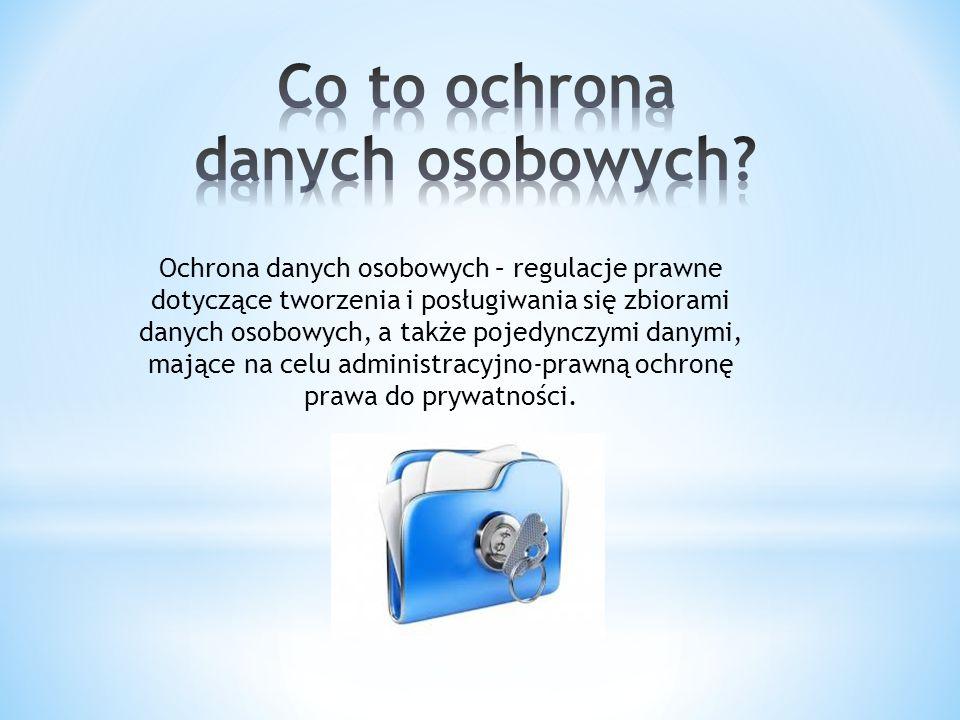 Dane osobowe – termin prawny, który w prawie polskim został zdefiniowany w ustawie z dnia 29 sierpnia 1997 o ochronie danych osobowych.