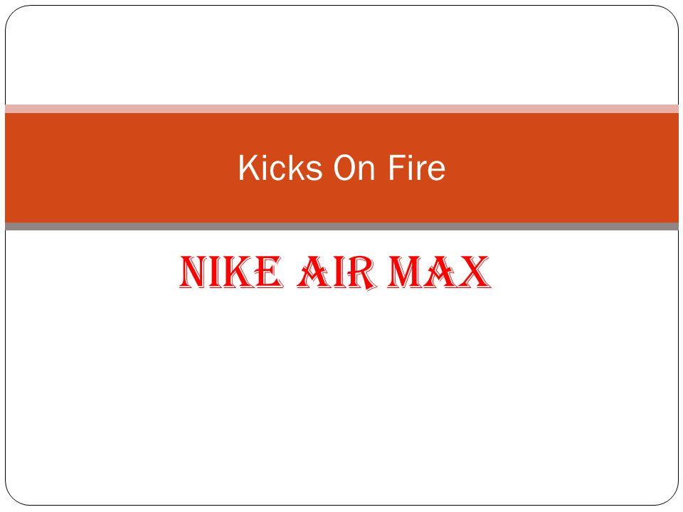 Air Max Nike Air Max buty wyprodukowane przez firm ę Nike, które zostały wprowadzone w 1987 roku, jako pierwszy przykład z widocznymi Air technology.