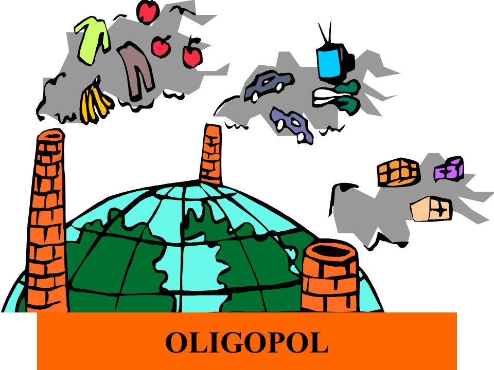 dr Zofia Skrzypczak Wydział Zarządzania UW 3 Oligopol niewielka liczba sprzedawców i wielu kupujących produkty jednorodne /oligopol homogeniczny/ lub zróżnicowane /oligopol heterogeniczny/ ograniczony dostęp do rynku /bariery techniczne i kapitałowe/ pełna informacja o rynku