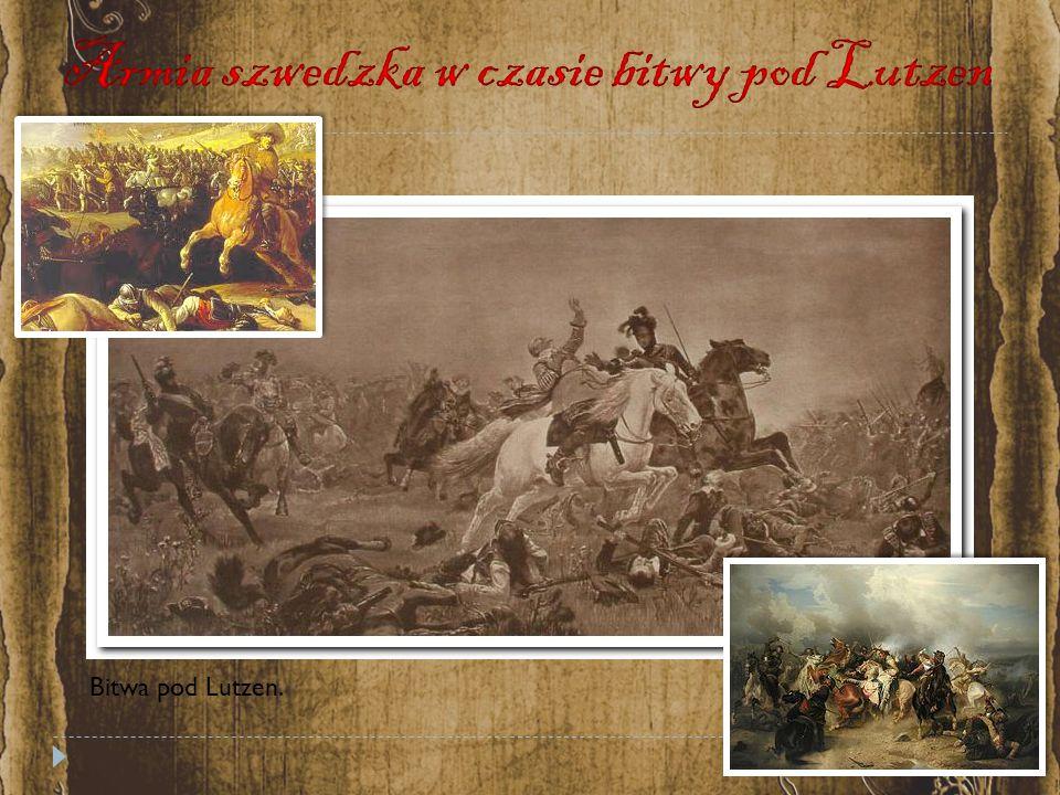 Bitwa pod Lutzen.