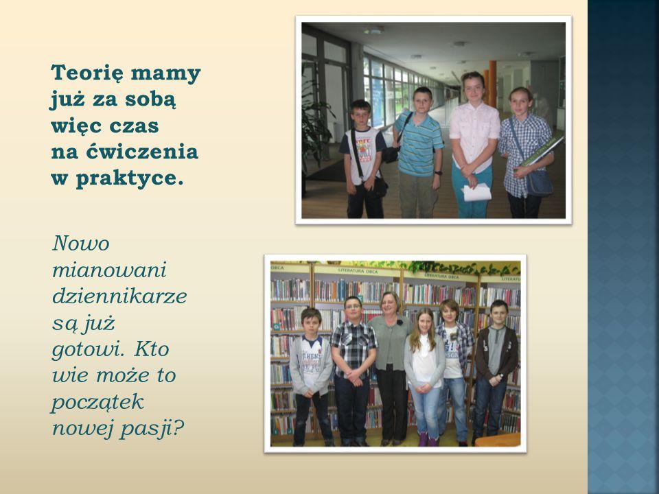 Jako pierwsza udzieliła nam wywiadu pani Marzena Kubiczek z Filii nr 25 Miejskiej Biblioteki Publicznej im.