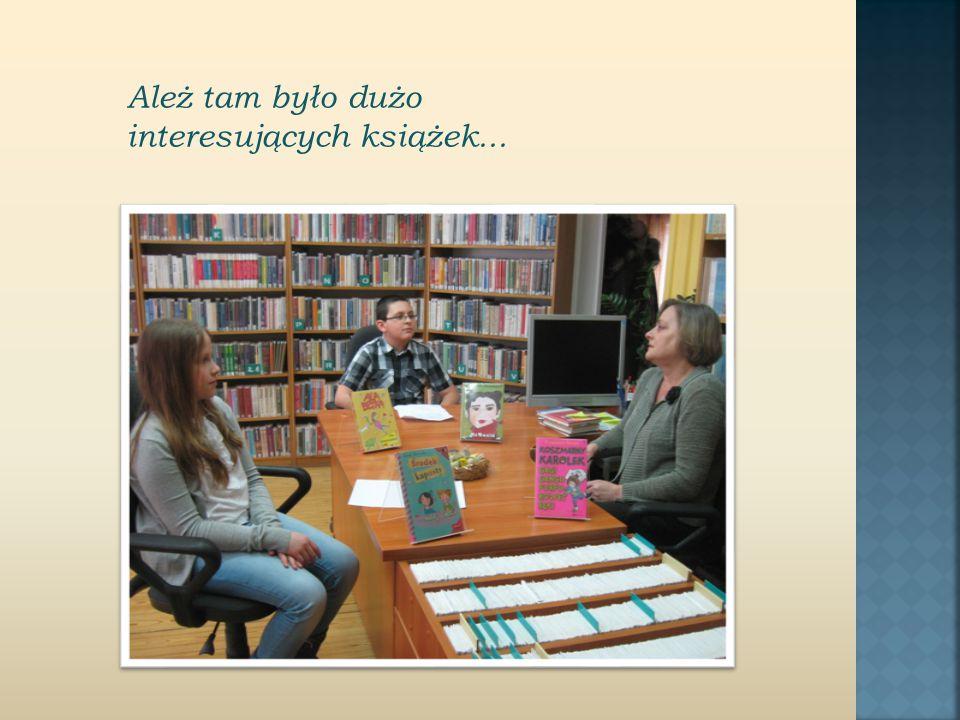 Ależ tam było dużo interesujących książek...