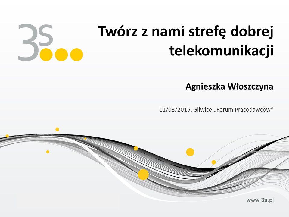 """Agnieszka Włoszczyna 11/03/2015, Gliwice """"Forum Pracodawców Twórz z nami strefę dobrej telekomunikacji"""
