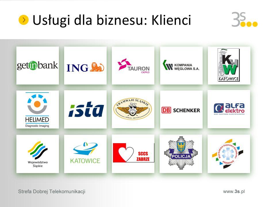 Usługi dla biznesu: Klienci