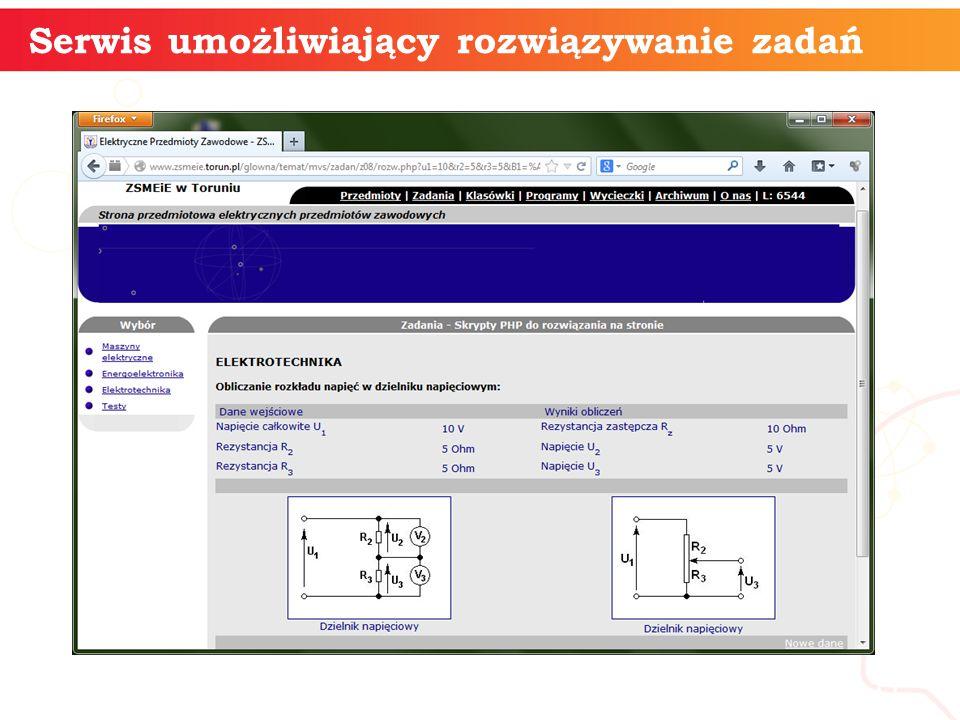 Serwis umożliwiający rozwiązywanie zadań informatyka + 11