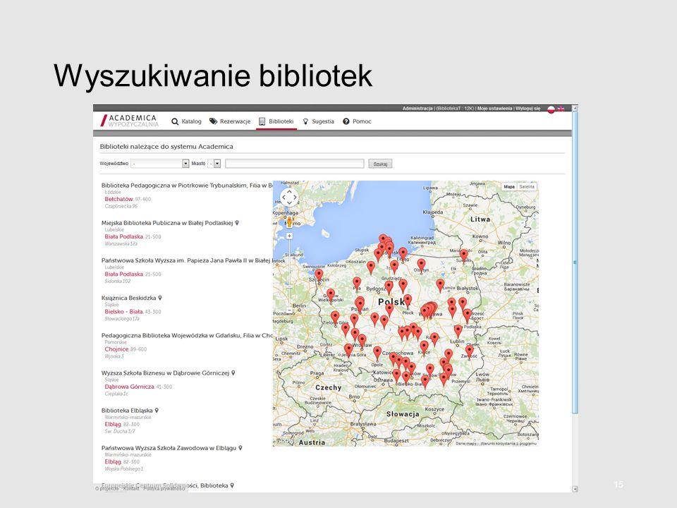 Wyszukiwanie bibliotek 15