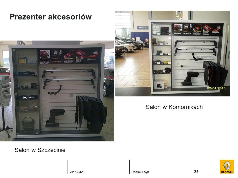 Prezenter akcesoriów 25 2015-04-19Rosiak i Syn Salon w Szczecinie Salon w Komornikach