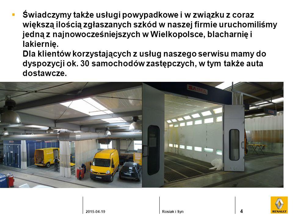  Świadczymy także usługi powypadkowe i w związku z coraz większą ilością zgłaszanych szkód w naszej firmie uruchomiliśmy jedną z najnowocześniejszych w Wielkopolsce, blacharnię i lakiernię.