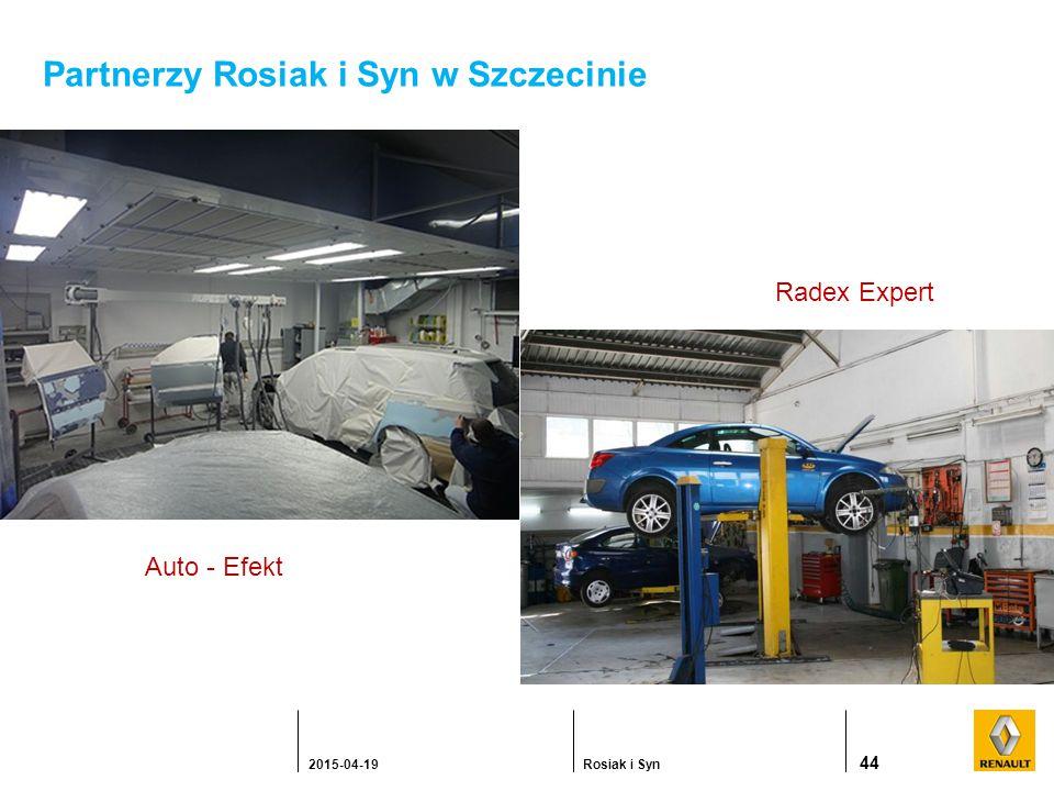 Partnerzy Rosiak i Syn w Szczecinie 44 2015-04-19Rosiak i Syn Auto - Efekt Radex Expert
