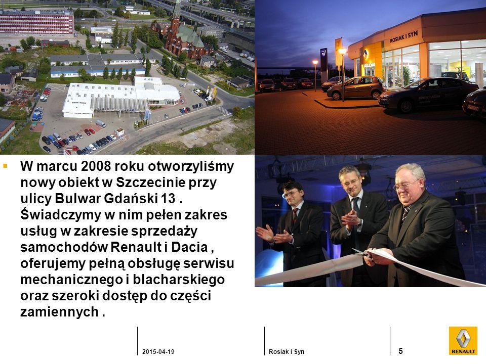  W marcu 2008 roku otworzyliśmy nowy obiekt w Szczecinie przy ulicy Bulwar Gdański 13.
