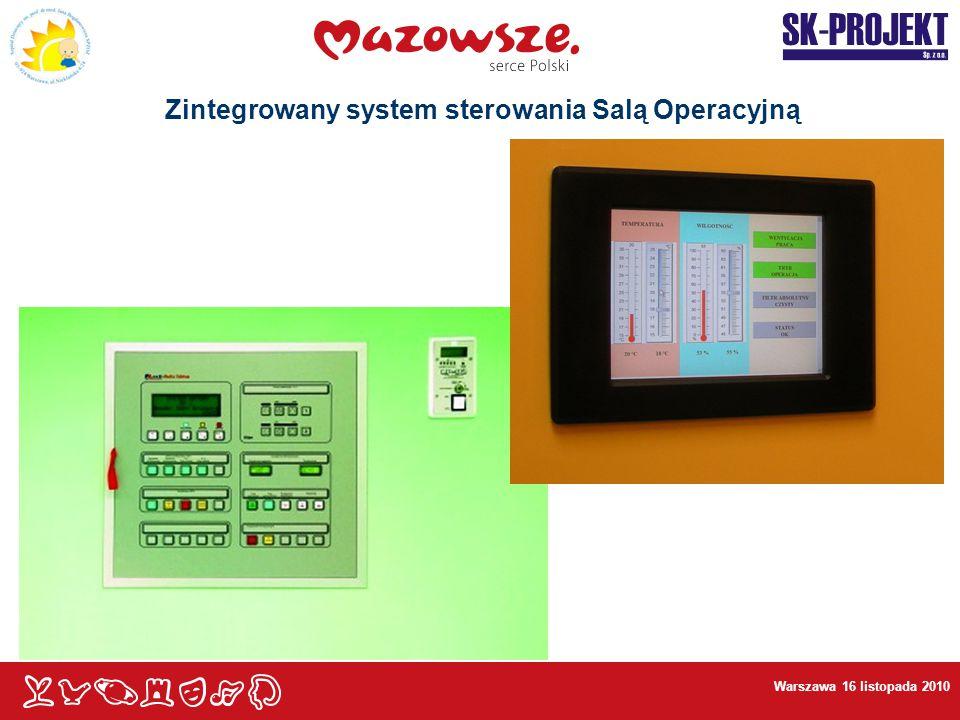 Zintegrowany system sterowania Salą Operacyjną