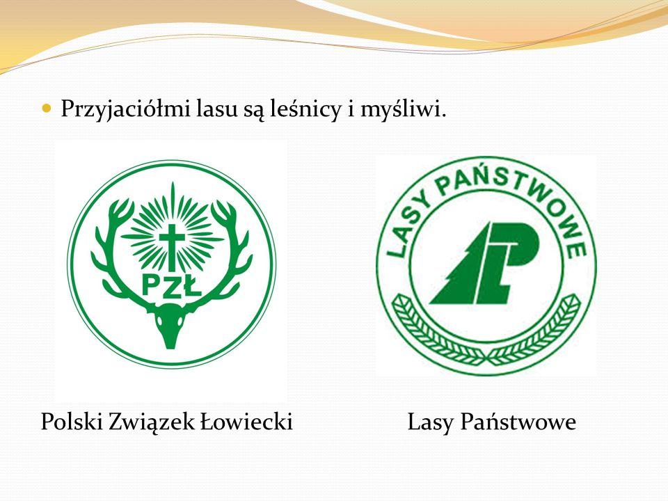 Przyjaciółmi lasu są leśnicy i myśliwi. Polski Związek Łowiecki Lasy Państwowe