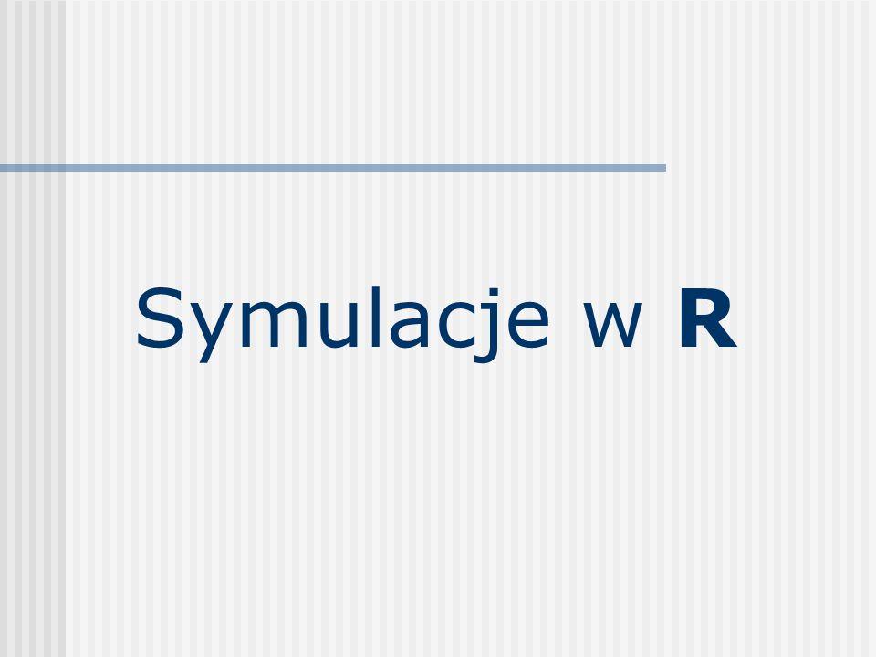 Symulacje w R