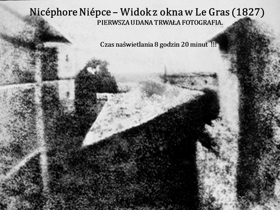 Joseph-Nicéphore Niépce (ur. 7 marca1765 w Chalon-sur- Saône, zm. 5 lipca 1833 w Saint-Loup-de-Varennes) francuski fizyk i wynalazca. W 1826 otrzymał