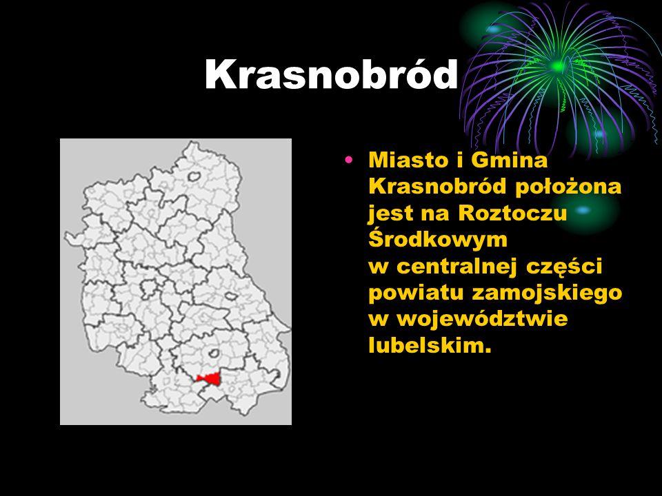 Krasnobród Miasto i Gmina Krasnobród położona jest na Roztoczu Środkowym w centralnej części powiatu zamojskiego w województwie lubelskim.